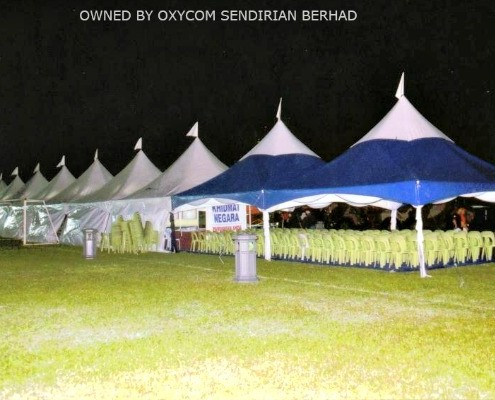 Pages & Oxycom Tent Sdn. Bhd. | Tension Tent 6 x 6 meter